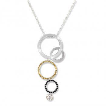 NOBEL SCHMUCK Damen-Kette Halskette 925 Sterling Silber od. Gold
