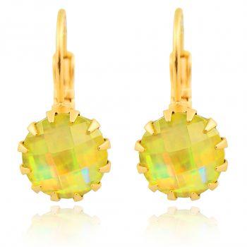 Damen-Ohrringe Gold Gelb - Brisurohrringe für Mädchen und Frauen von NOBEL SCHMUCK
