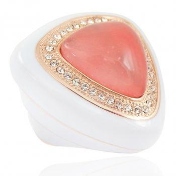 Ring Rosegold Kristalle von Swarovski® Gr. 54 Cocktailring NOBEL SCHMUCK