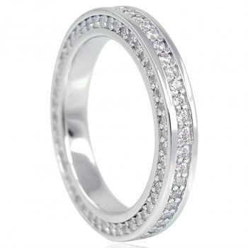 Damen-Ring Fingerring 925 Sterling Silber Zirkon NOBEL SCHMUCK