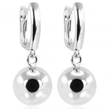 Geometrische Ohrringe Sterling Silber Minimalistisch NOBEL SCHMUCK