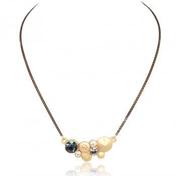 Kette mit Markenkristallen Damen Halskette von NOBEL SCHMUCK