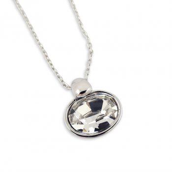 Kette mit Kristall von Swarovski® Silber Halskette NOBEL SCHMUCK