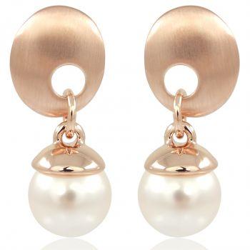 Perlen-Ohrringe mit Swarovski Elemens Perlen Verschiedene Farben NOBEL SCHMUCK