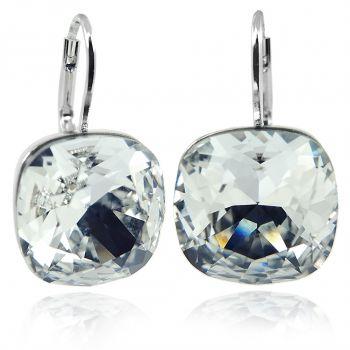 Ohrringe mit Kristalle von Swarovski® Silber Viele Farben Sommer NOBEL SCHMUCK