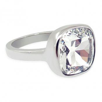 Damen-Ring Silber Crystal mit Markenkristall NOBEL SCHMUCK