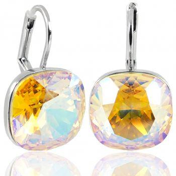 Ohrringe mit Kristallen von Swarovski® Silber Shimmer NOBEL SCHMUCK