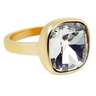 Damen-Ring Gold mit Markenkristall NOBEL SCHMUCK
