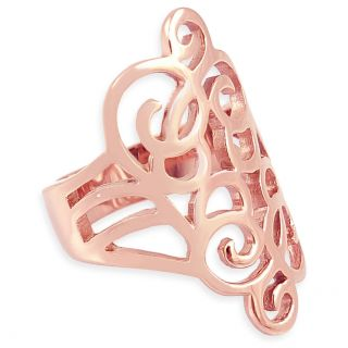 Ring Rosegold Wrap-Ring Breit NOBEL SCHMUCK