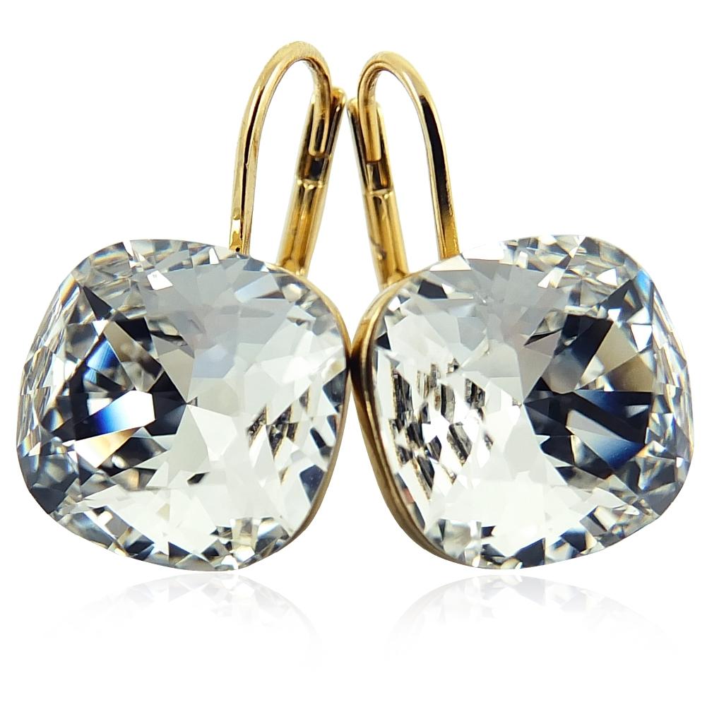 ohrringe mit kristallen von swarovski gold crystal nobel schmuck 4260322083068 ebay. Black Bedroom Furniture Sets. Home Design Ideas